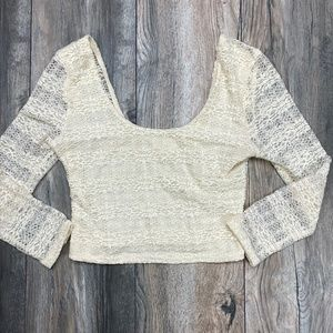 Pins & Needles Urban Outfitters Lace crop top